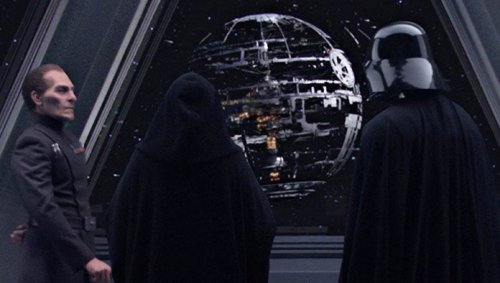 Emperor Palpatine Claims Death Star Is 'Infrastructure'