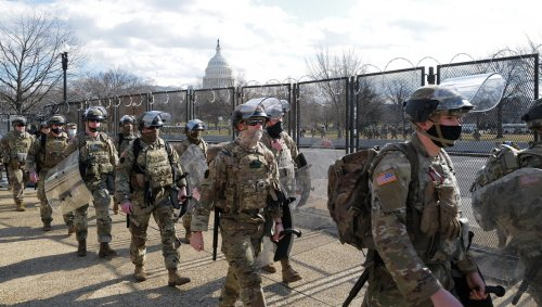 Biden Bringing U.S. Troops Home So They Can Guard The Capitol