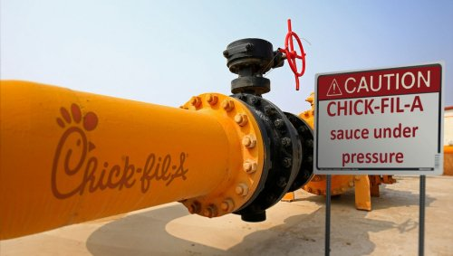 Keystone XL Pipeline To Be Repurposed To Transport Chick-Fil-A Sauce