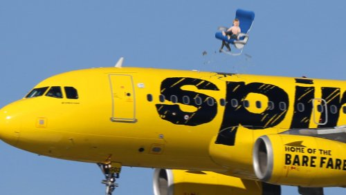 Spirit Airlines Installs Ejection Seats For Toddlers Who Take Off Their Masks