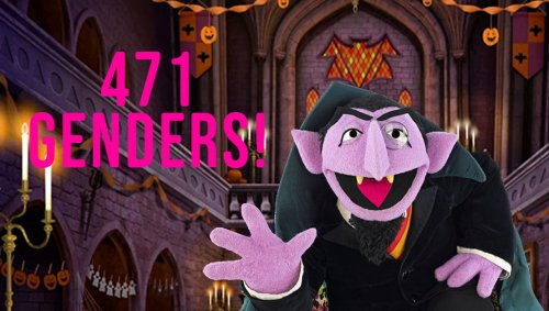 Sesame Street Airs 4-Hour-Long Special Where The Count Counts All 471 Genders