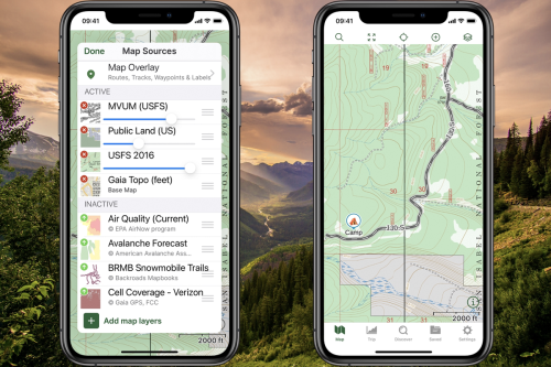 How to Use Gaia GPS to Find Free National Forest Camping