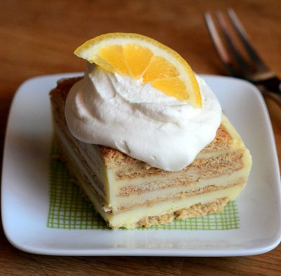 Lemonade Icebox Cake - Baking Bites