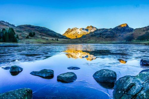 Blea Tarn, Little Langdale and Cathedral Caves