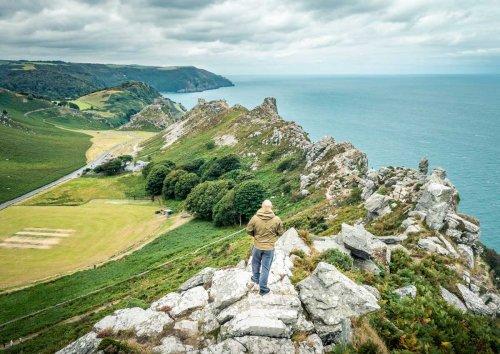 A Walk Of The Valley Of Rocks, Exmoor | BaldHiker