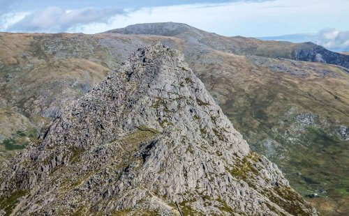 Tryfan, The Glyders and Devil's Kitchen, Snowdonia   BaldHiker