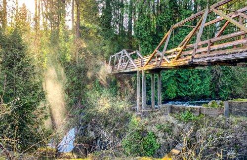 Tumwater Falls Park, Washington   BaldHiker