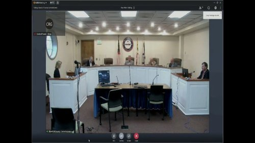 Carroll commissioners hear plan to reopen senior centers, increase county 911 fee