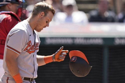 Orioles complete another winless road trip with 10-3 loss in Cleveland, their 19th straight away from Baltimore