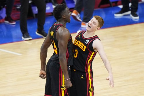 Former Maryland standout Kevin Huerter scores 27 to lead Hawks past 76ers in Game 7 of NBA East semifinals