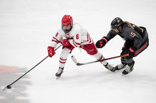 Annapolis resident Lacey Eden helps Wisconsin women's ice hockey capture national championship