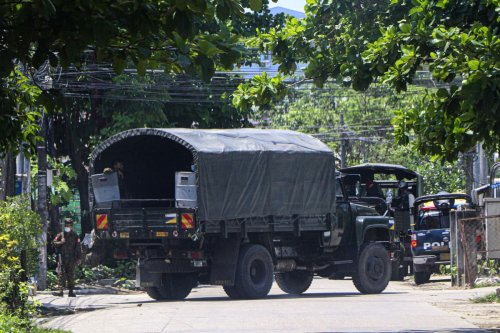 Myanmar forces kill 82 in single day in city, according to reports