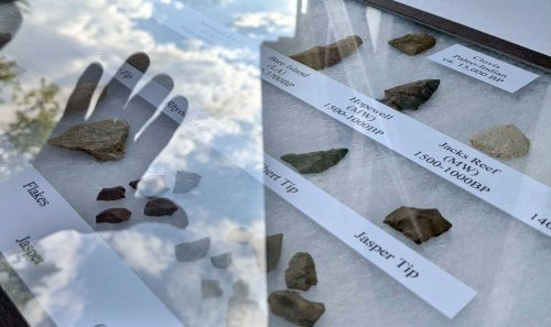 17th century colonial artifacts found at Jug Bay in Lothian