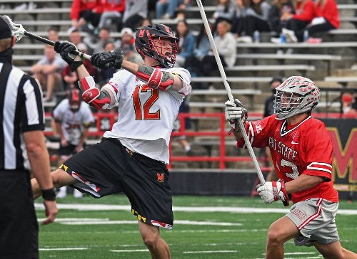 Maryland vs. Ohio State in men's lacrosse   PHOTOS