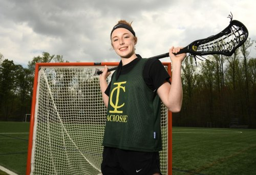 Megan Bunker helped bring sports back at Indian Creek. Now, she's making history on the lacrosse field.