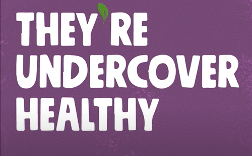 VGood Launches 'Undercover Healthy' Creative Campaign