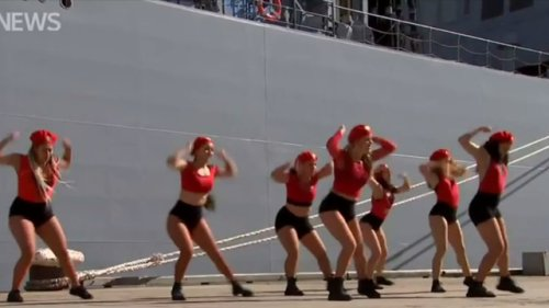 """Very Creepy"": ABC Forced To Apologise Over Navy Ship Twerking Video"
