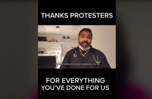 "Sydney Comics Make Hilarious Mock Ad ""Thanking"" Anti-Lockdown Protestors"