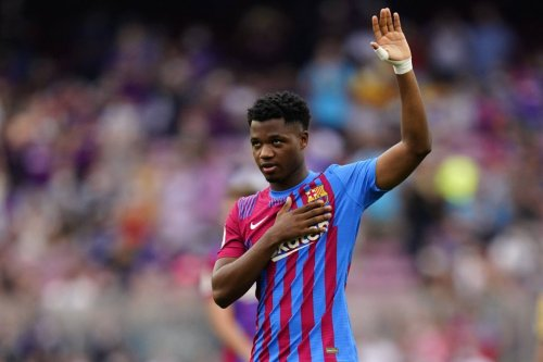 Ansu Fati speaks following his first goal for Barcelona in ten months