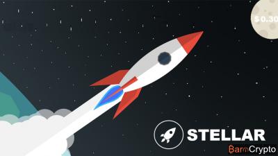 Le cours Stellar (XLM) rechute après son sommet de $0,30 du weekend