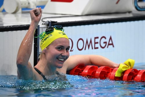 Australia's Titmus Upsets Ledecky To Win Olympic 400m Freestyle Gold