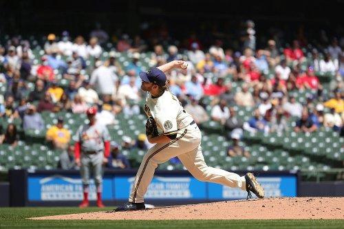 Burnes Sets MLB Season Mark: 58 Strikeouts Before A Walk
