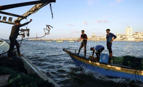 Under Israel's Blockade, Gaza's Fishermen Struggle For A Catch