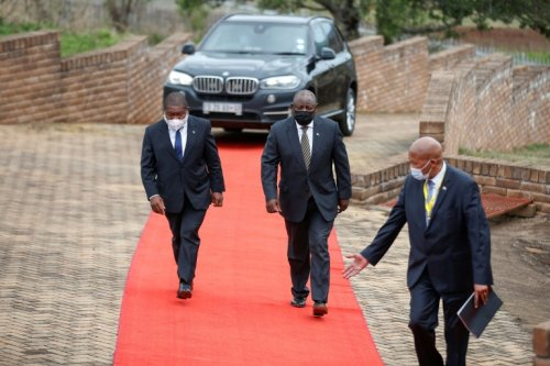 Ramaphosa Warns Mozambique Jihadists At Machel Memorial