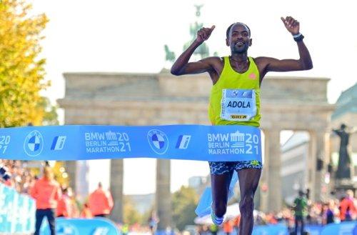 Ethiopia's Guye Adola Wins Berlin Marathon, Bekele Third