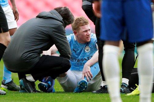 De Bruyne Injury Concern For Man City Ahead Of PSG Tie