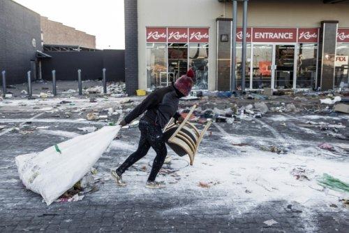 S.Africa's KwaZulu-Natal Sets State Of Disaster After Unrest