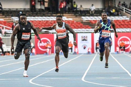 Gatlin Beaten In Nairobi 100m, Puts Retirement On Hold