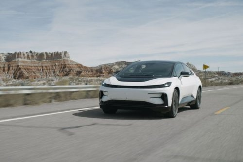 We Just Drove In Faraday Future's $180,000 EV. Here's What It's Like.
