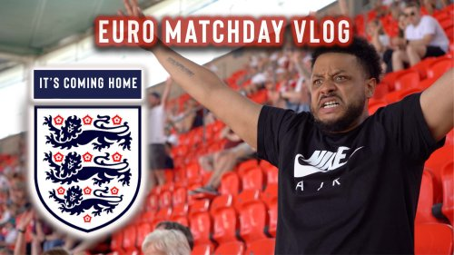 TROOPZ IS BACK AT STADIUMS | ENGLAND 1-0 CROATIA | MATCHDAY VLOG | THE EURO'S WITH TROOPZ
