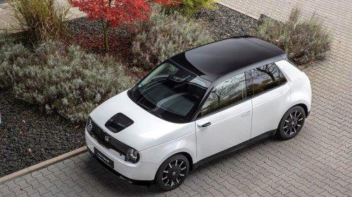 """Honda e: Darum ist das kleine Elektroauto """"Auto des Jahres"""""""
