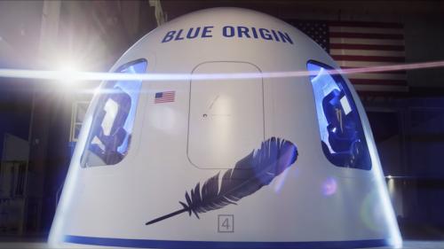 Blue Origin: Jeff Bezos startet erste Rakete – und ein Tourist darf mit
