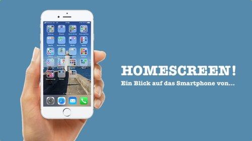 Homescreen! Ein Blick auf das Smartphone von Peter Apel