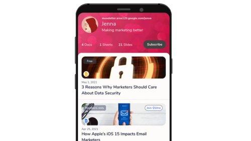 Museletter: Google startet kostenloses Newsletter-Tool in Google Drive
