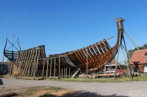 L'incroyable reconstruction du Jean Bart, un navire de guerre du XVII siècle