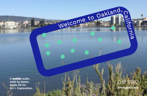 Migration + Memory: An Immersive Audio Walk through Downtown Oakland -