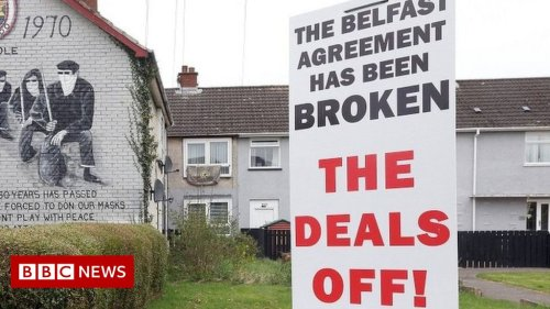 Good Friday Agreement negotiators call for NI Protocol suspension