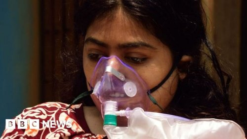Covid-19 in India: Patients struggle at home as hospitals choke