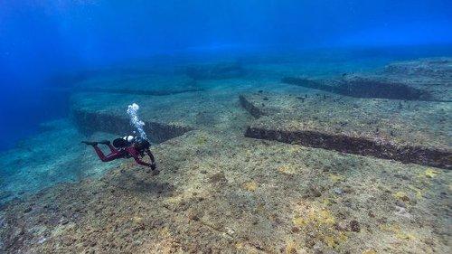 Japan's mysterious underwater 'city'