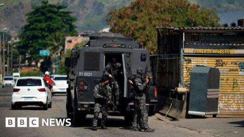 Brazil: At least 23 killed in Rio de Janeiro shootout