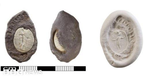 Norfolk silver seal discovery unlocks Roman mystery