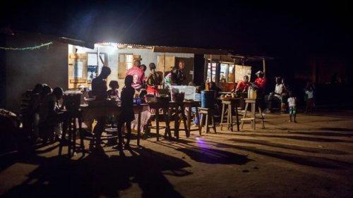 How pedestrians are lighting homes in Sierra Leone