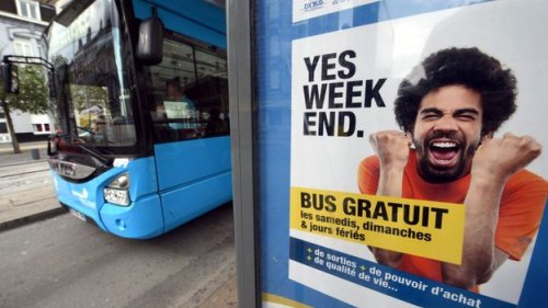 How France is testing free public transport