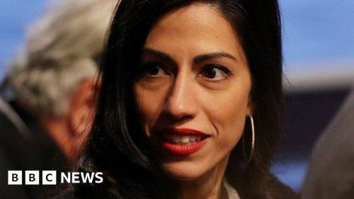 Huma Abedin: Clinton aide details unwanted kiss by US senator