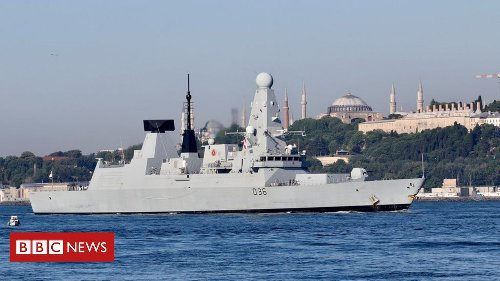 HMS Defender: Russian jets and ships target British warship