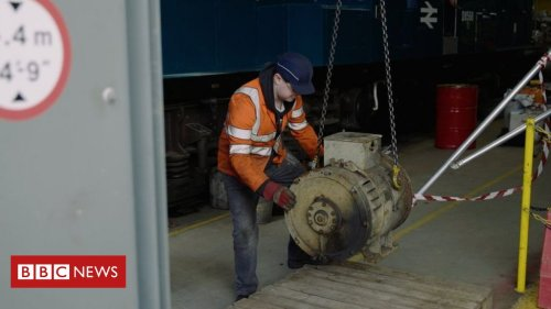 Severn Valley Railway helps to convert hydrogen engine